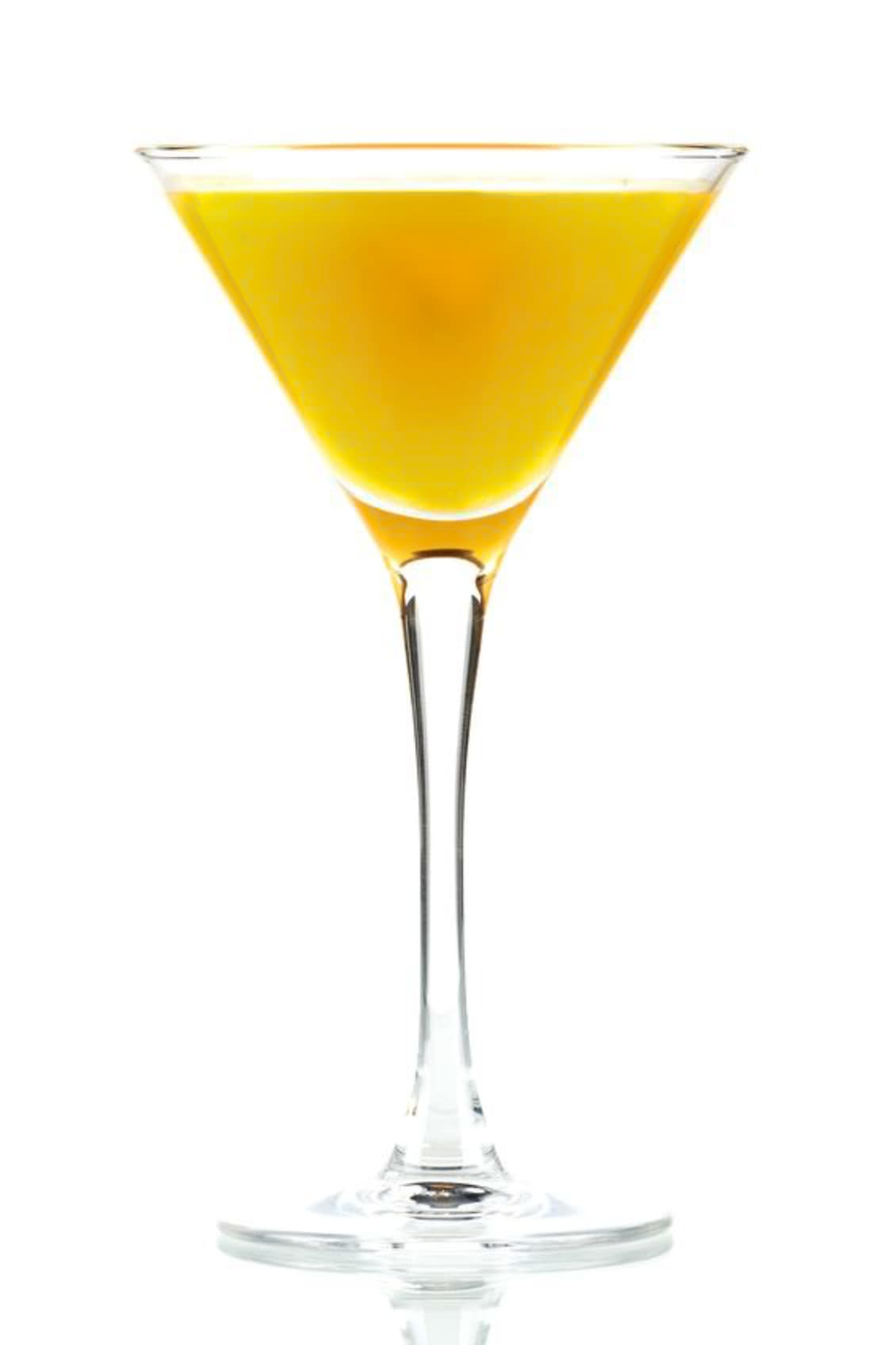 Photo shows a Between the Sheets cocktail in a serving glass, mixed and ready to drink. (© karandaev/123RF photo)