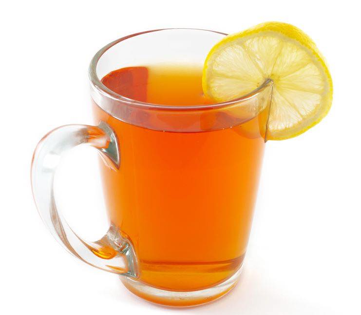 Photo shows a Hot Toddy cocktail in a serving glass, mixed and ready to drink. (© cepn/123RF photo)